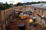 Erlangen 22.09.16:  Freigemachtes Baufeld für die neue EBR Martinsbühler Straße