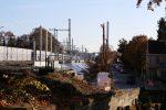 Erlangen 31.10.16: Abgetragener Bahndam der ehemaligen Gleise 3 und 4