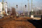 Baiersdorf 3.12.16:  Außer Betrieb: die ehemaligen nördlichen Ausfahrsignale