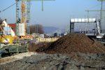 Bubenreuth 3.12.16: Blick über die Neue Straße in Richtung Norden