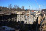 Bubenreuth 3.12.16: Südliches Widerlager der Brücke Bubenreuther Weg