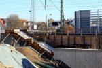 Bubenreuth 3.12.16: Späterer Treppenaufgang zum Mittelbahnsteig in Bau