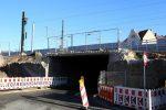 Erlangen 3.12.16: Eisenbahnbrücke Münchener Straße